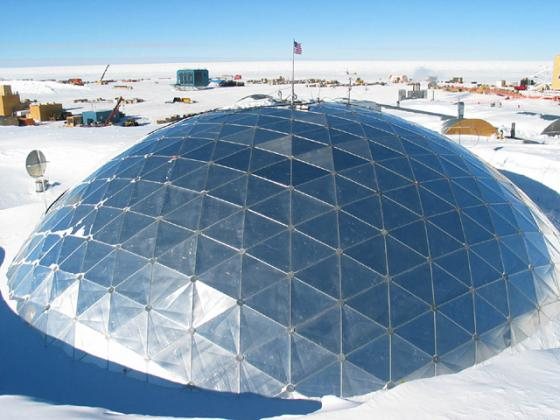 South Pole Station Dome