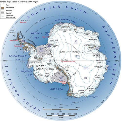 Antarctica Geography